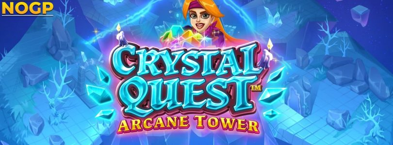 Crystal Quest Arcane Tower video slot logo