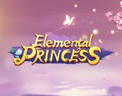 Elemental Princess video slot logo