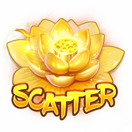 Elemental Princess video slot - Scatter symbol
