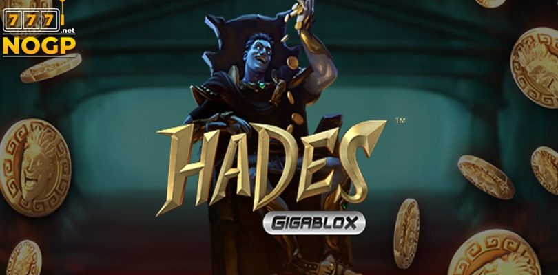 Hades Gigablox video slot logo