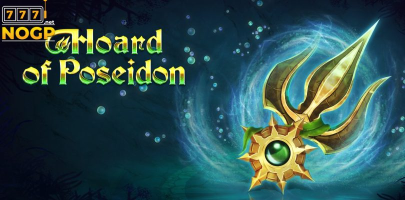 Hoard of Poseidon slot logo