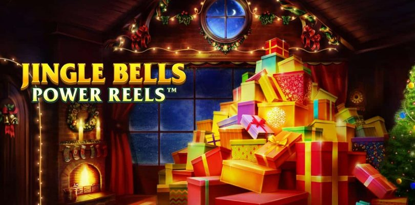 Jingle Bells Power Reels slot logo