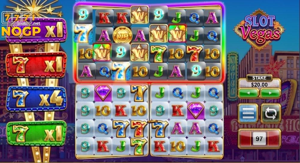Slot Vegas Megaquads Rainbow Wild Bonus