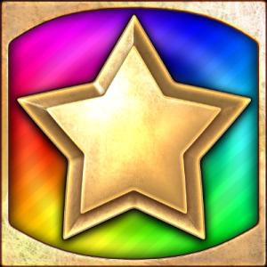 Star Clusters Megaclusters - Golden wild symbol