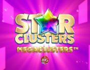 Star Clusters Megaclusters video slot logo