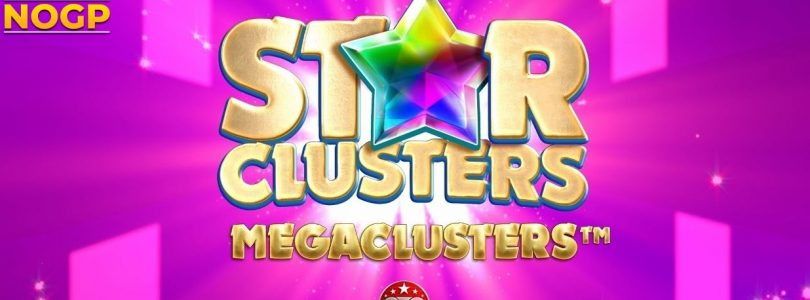 Star Clusters Megaclusters video slot logo