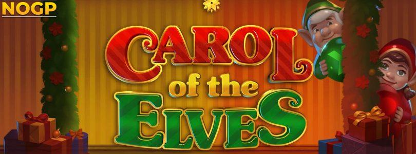 Carol of the Elves video slot logo