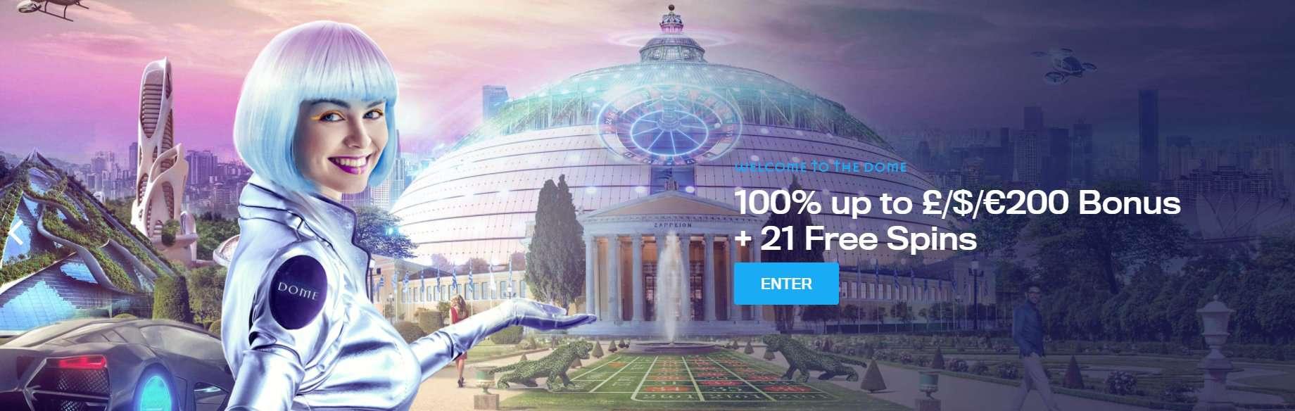 Casino Dome banner NOGP