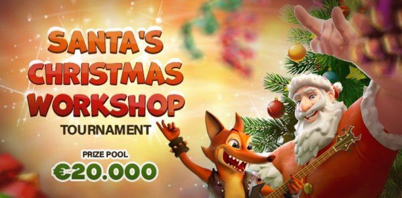 Crazyfox's Santas Christmas Workshop
