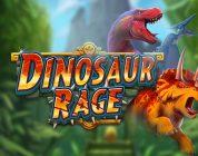 Dinosaur Rage video slot logo