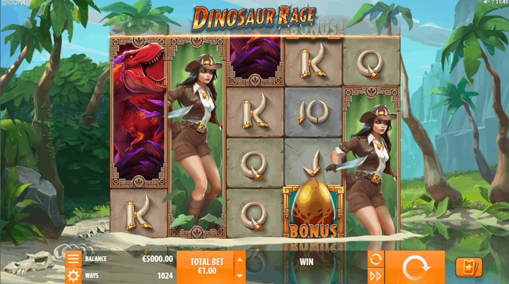 Dinosaur Rage screenshot