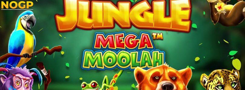Jungle Mega Moolah video slot logo