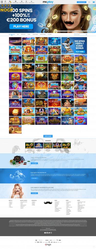 Mr Play's homepage