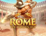 Rome The Golden Age video slot logo