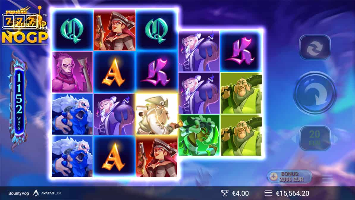 Bountypop slot screenshot