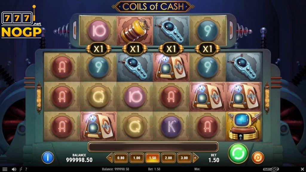 Coils of Cash video slot screenshot