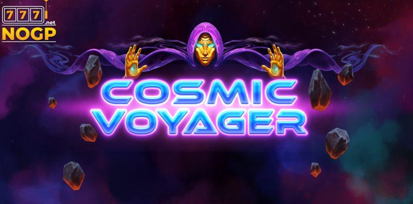 Cosmic Voyager video slot logo