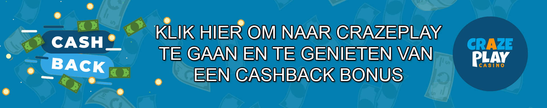 Ga naar Crazeplay Casino.