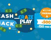 Cashback deal & bonus Crazeplay