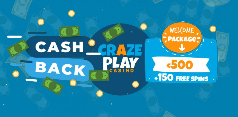 Cashback deal & bonus Crazeplay