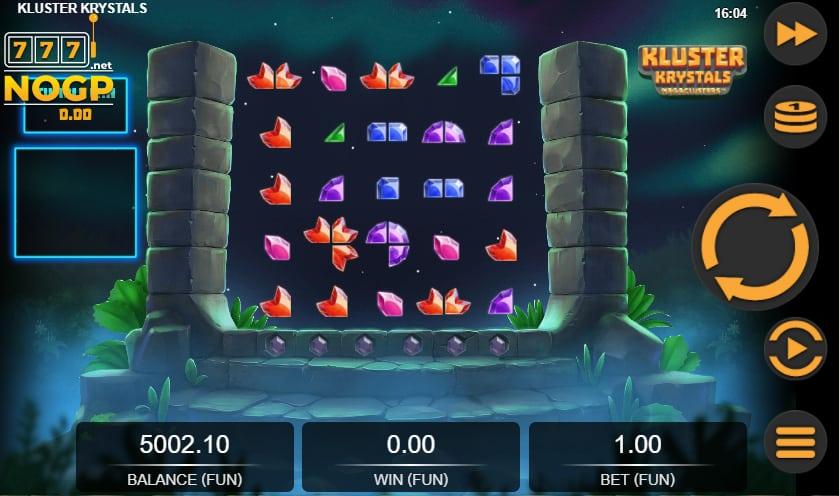 Kluster Krystals Megaclusters video slot screenshot