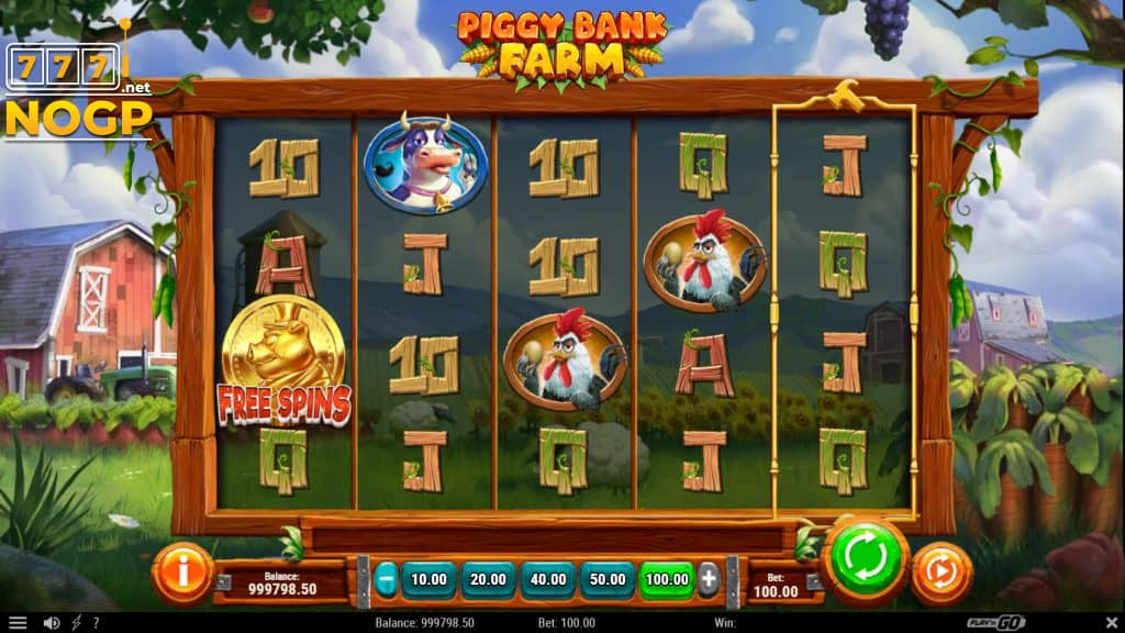 Play'n GOs Piggy Bank Farm slot.