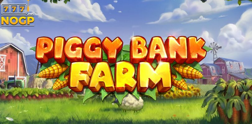PIggy Farm video slot logo