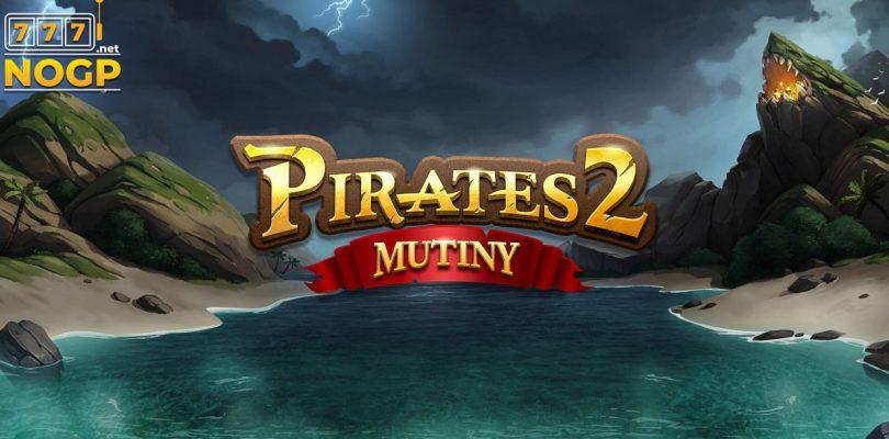 Pirates 2 Mutiny video slot logo