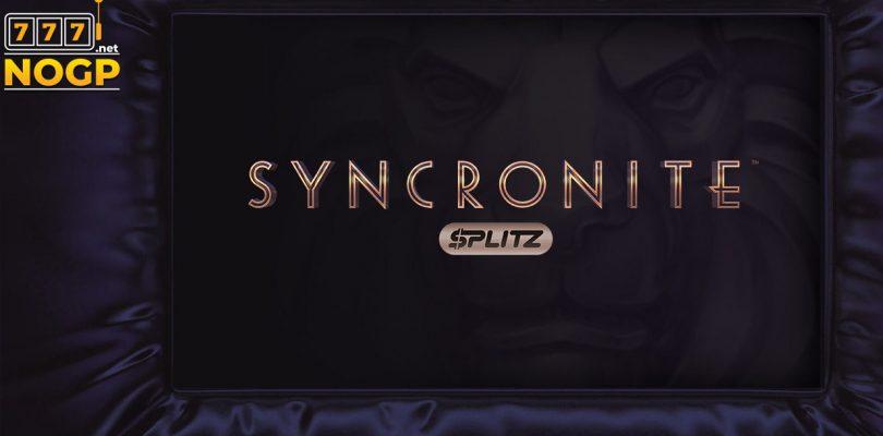 Syncronite Splitz video slot logo