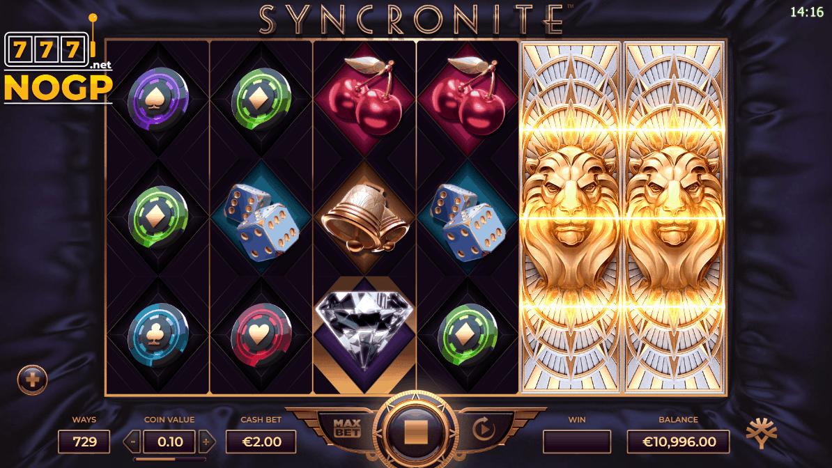 Syncronite Splitz symbols