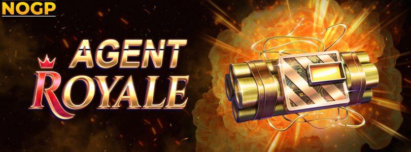 Agent Royale video slot logo