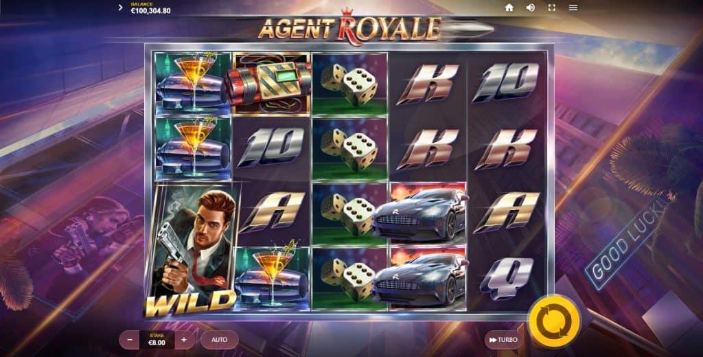 Red Tiger Gaming - Agent Royale slot screenshot