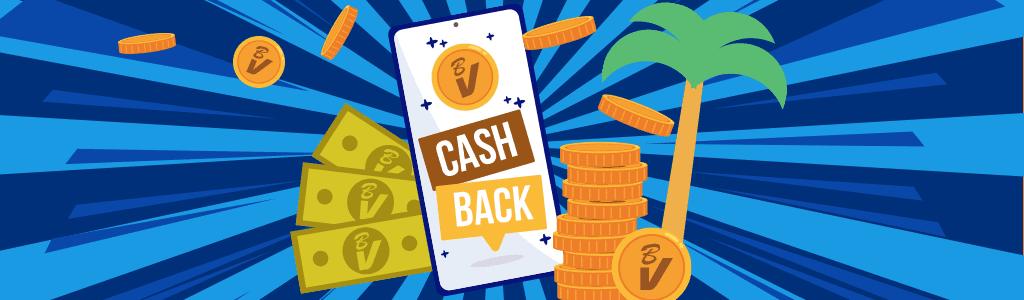 Cashback bij BluVegas Casino
