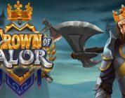 Crown of Valor video slot logo