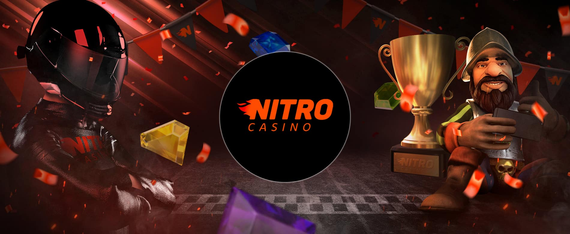 Nitro Casino 1 year birthday