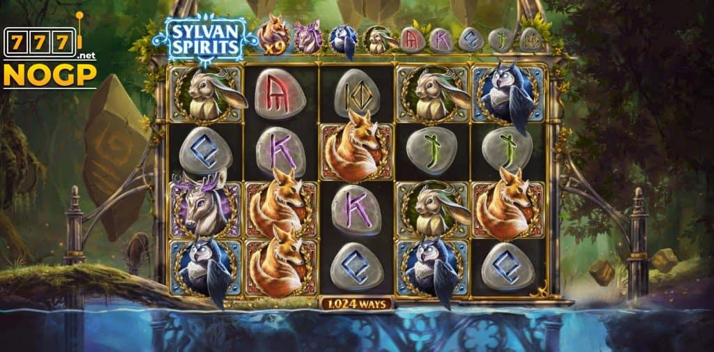 Screenshot Sylvan Spirits gokkast