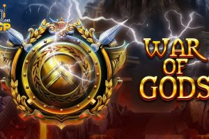 War of Gods video slot logo