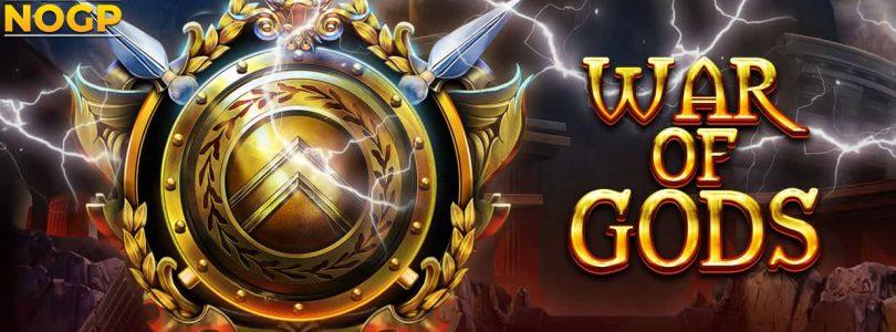 War of Gods video slot logo
