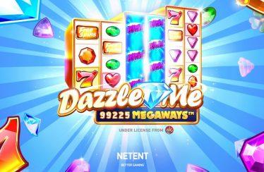 Dazzle Me Megaways video slot logo