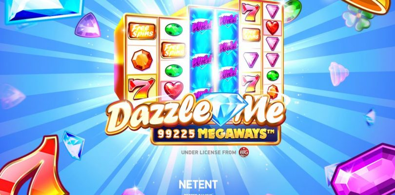 Dazzle Me Megaways video slot logo