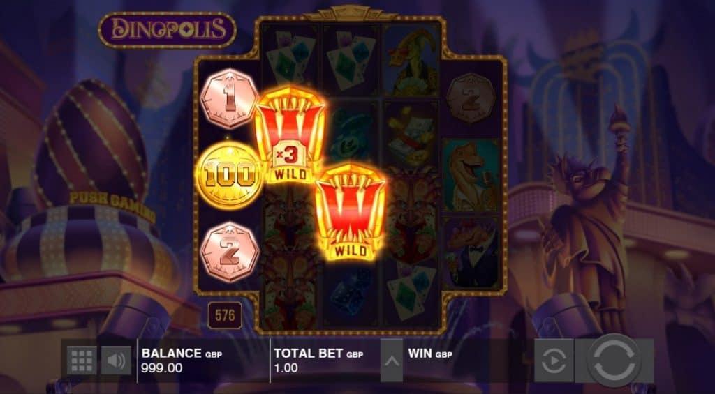 Dinopolis gokkast screenshot