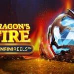 Dragons Fire Infinireels slot logo