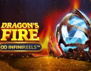 Dragons Fire Infinireels slot logo