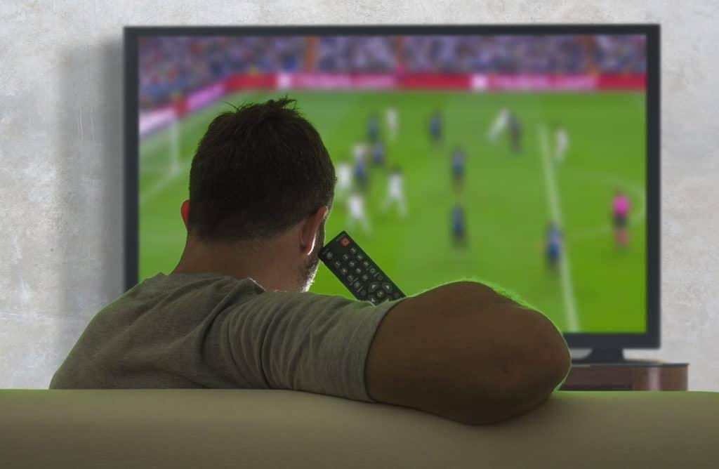 Voetbal kijken en wedden