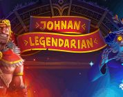 Johnan Legendarian video slot logo