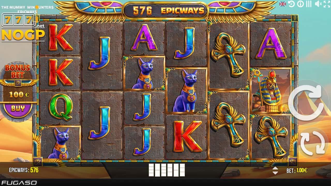 The Mummy Epicways slot screenshot