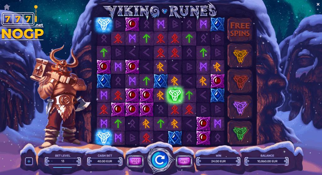 Viking Runes gokkast screenshot