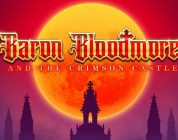 Baron Bloodmore and the Crimson Castle video slot logo