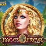 Faces of Freya video slot logo