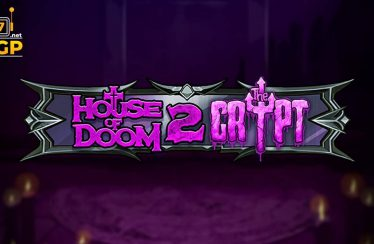 House of Doom 2 The Crypt video slot logo